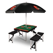 Picnic Time Picnic Table; Cleveland Browns/Black