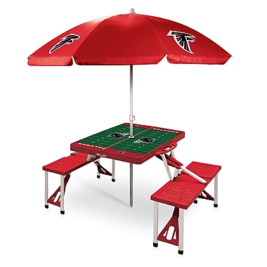 Picnic Time Picnic Table; Atlanta Falcons/Red