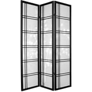 Oriental Furniture 72'' x 52'' Shoji 3 Panel Room Divider