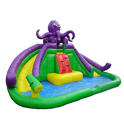 JumpOrange Monster Octopus Water Slide and Bounce House