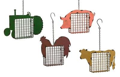 Evergreen Enterprises, Inc 4 Piece Life on the Farm Suet Bird Feeder Set