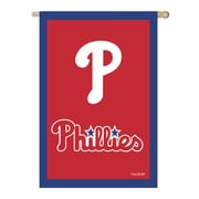 Evergreen Enterprises, Inc MLB Applique Vertical Flag; Philadelphia Phillies