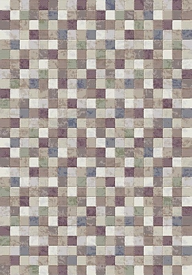 Dynamic Rugs Eclipse Gray Area Rug; 2' x 3'11''