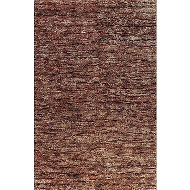 Dynamic Rugs Gem Hand-Woven Red Area Rug; 8' x 11'