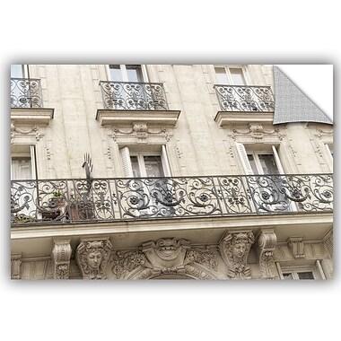 ArtWall Cora Niele Paris Facade Removable Wall Decal; 12'' H x 18'' W x 0.1'' D