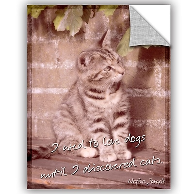 ArtWall Cora Niele Cats Removable Wall Decal; 18'' H x 14'' W x 0.1'' D