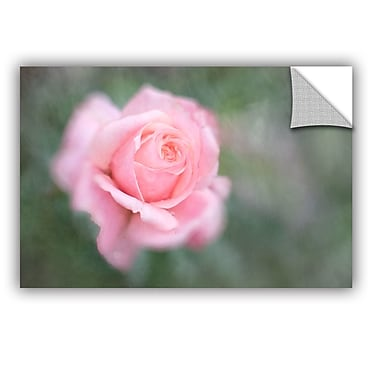 ArtWall Cora Niele Pink Rose Removable Wall Decal; 32'' H x 48'' W x 0.1'' D
