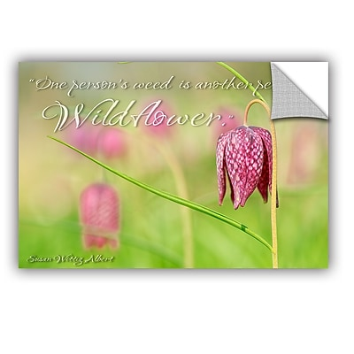 ArtWall Cora Niele Wildflower Removable Wall Decal; 08'' H x 12'' W x 0.1'' D