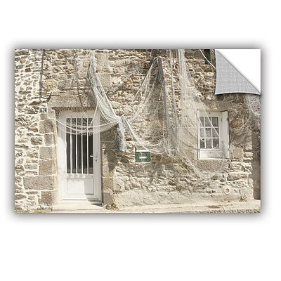 ArtWall Cora Niele Saint Suliac Fishing Village III Removable Wall Decal; 24'' H x 36'' W x 0.1'' D