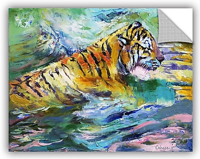 ArtWall Michael Creese Tiger Reflections Wall Decal; 36'' H x 48'' W x 0.1'' D