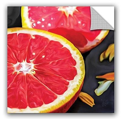 ArtWall Scott Medwetz Grapefruit Wall Decal; 18'' H x 18'' W x 0.1'' D