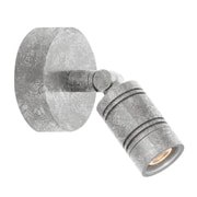 TRLM 1-Light Monopoint Wall Sconce; Galvanized