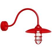 TRLM 1-Light Barn Light; Red
