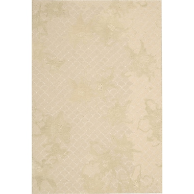 Darby Home Co Stalbridge Hand-Tufted Sand Area Rug; Rectangle 8' x 10'6''