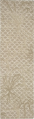 Darby Home Co Stalbridge Hand-Tufted Latte Area Rug; Runner 2'3'' x 8'