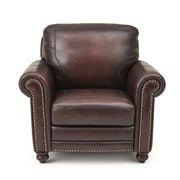 Darby Home Co Wilmore Leather Club Chair