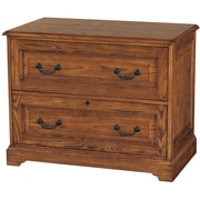 Darby Home Co Southview 2-Drawer Lateral File; Dark Oak