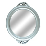 Darby Home Co Round Silver Wall Mirror