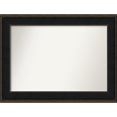 Darby Home Co Westmoreland Wood Wall Mirror; 50.63'' W x 31.63'' H x 1.125'' D