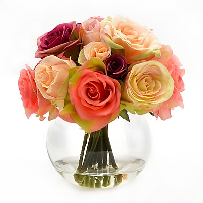 Darby Home Co Mixed Rose Bouquet