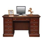 Darby Home Co Spielman Executive Desk; 30.5'' H x 57'' W x 27'' D
