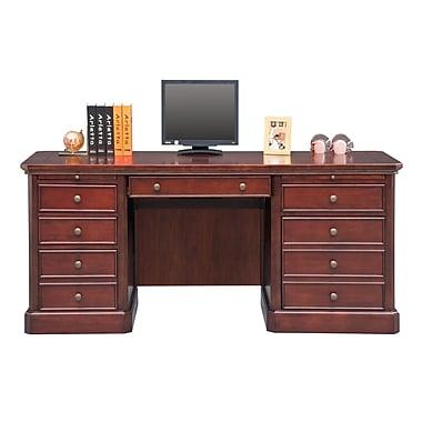 Darby Home Co Spielman Executive Desk; 30.5'' H x 68'' W x 24'' D