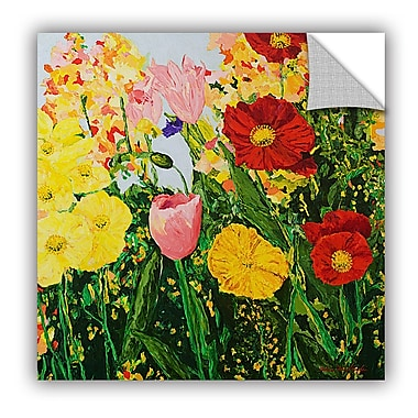 Darby Home Co Blue Skies and Sunshine Wall Mural; 14'' H x 14'' W x 0.1'' D