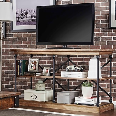 Darby Home Co Gail 60'' TV Stand; Brown