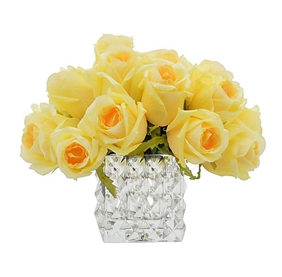 Darby Home Co Yellow Rose Bouquet