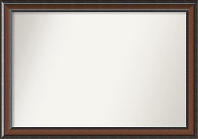 Darby Home Co Halcott Rectangle Dark Walnut Wall Mirror; 44'' H x 31'' W x 1.5'' D