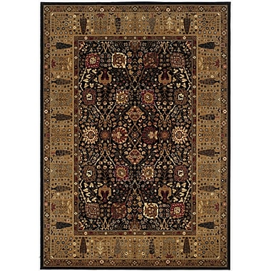 Darby Home Co Edwards Brown Area Rug; Rectangle 7'10'' x 11'1''