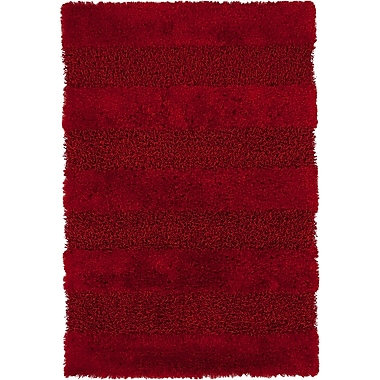 Darby Home Co Winfrey Red Area Rug; 5' x 7'6''