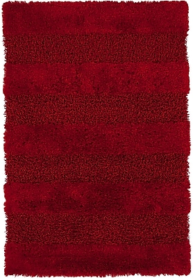 Darby Home Co Winfrey Red Area Rug; 7'9'' x 10'6''