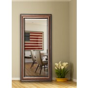 Darby Home Co Traditional Bronze Full Length Beveled Body Mirror; 71'' H x 30.5'' W x 1'' D