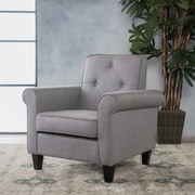 Charlton Home Coll Armchair; Gray
