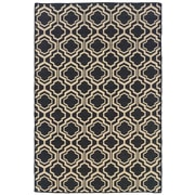 Darby Home Co Bloomfield Grey/Natural Area Rug; Rectangle 5' x 8' by
