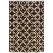 Darby Home Co Bloomfield Hills Hand Tufted Brown/Natural Area Rug; Rectangle 5' x... by