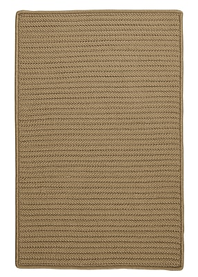 Charlton Home Glasgow Brown Indoor/Outdoor Area Rug; Square 6'
