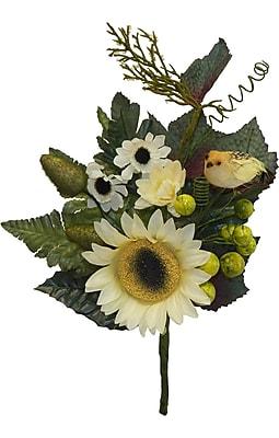 Charlton Home Nature Scene Sunflower Bouquet