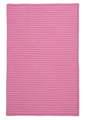 Charlton Home Glasgow Pink Indoor/Outdoor Area Rug; Rectangle 7' x 9'