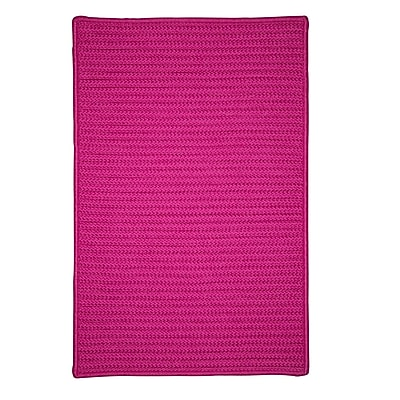 Charlton Home Glasgow Pink Indoor/Outdoor Area Rug; Runner 2' x 6'