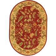 Charlton Home Helena Floral Area Rug; Rectangle 7'9'' x 9'9''