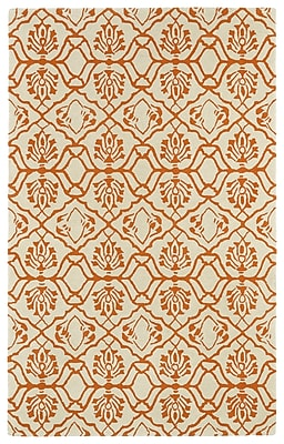 Charlton Home Corine Orange Area Rug; Rectangle 2' x 3'