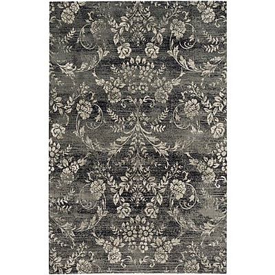 Charlton Home Danbury Gray Area Rug; Rectangle 7'8'' x 11'