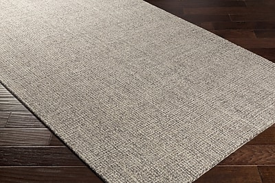 Charlton Home Darlington Hand-Tufted Gray Area Rug; 5' x 7'6''