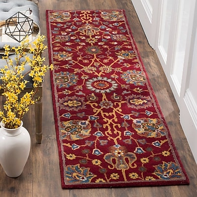 Charlton Home Rodney Hand-Tufted Area Rug; Rectangle 4' x 6'
