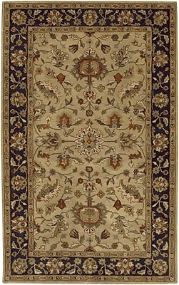 Charlton Home Stanford Gold/Charcoal Rug; Runner 3' x 12'