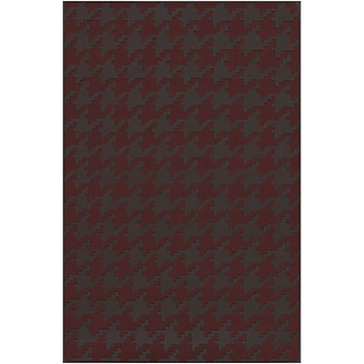 Charlton Home Atkins Houndstooth Area Rug; Rectangle 8' x 11'