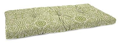 Charlton Home Polyester Indoor Bench Cushion; Tachenda Palm