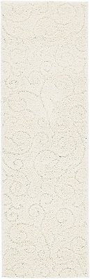 Charlton Home Albers Floral Ivory Area Rug; Runner 2'7'' x 10'